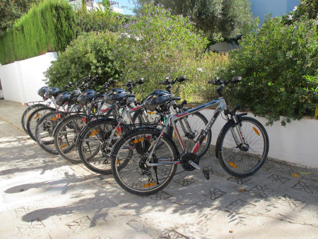 Groups can go on with those bikes for an excursion on the Costa del Sol