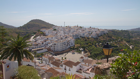 An excursion destination is the village of Frigiliana on the Costa del Sol