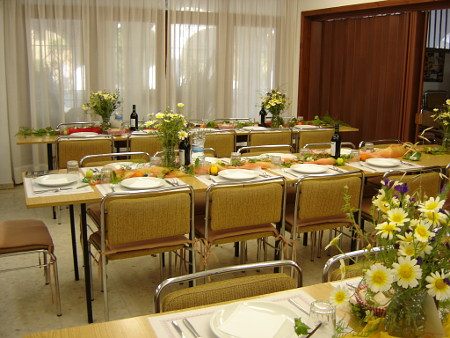 Exclusive dinner for groups in a spacious multi-functional room