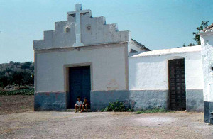 The first evangelical church in Los Rubios in 1961